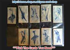 CARRERAS TURF SLIDES BRITISH AIRCRAFT 1953 (G/F) ***PICK THE CARDS YOU NEED***