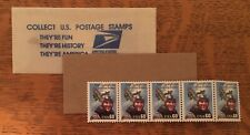 5, 1995 Eddie Rickenbacker, 60 cent USA Airmail Stamps