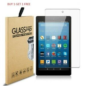 """2 Pack Genuine Tempered Glass Screen Protector For AMAZON KINDLE FIRE HD 10.1"""""""