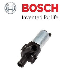 For Audi A6 Quattro VW Electric Auxiliary Secondary Water Pump Bosch 078965561