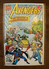 The Avengers #350 (Aug 1992, Marvel) Comic 64 pg 350th Issue-Vintage-Old-Books