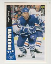 1996-97 Upper Deck Collector's Choice #261 Tie Domi Toronto Maple Leafs