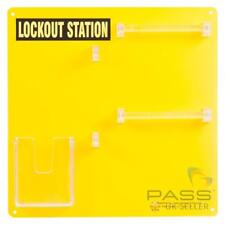 Lockout Tagout Station for 10 Locks - Without Accessories