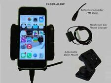 iPhone 5C  car cradle inc external antenna connection -Smoothtalker 5C  car kit