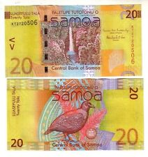 Samoa  20  Tala 2012 Pick new   FDS  UNC nuova firma  new signature  lotto 2358