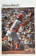 JOHNNY BENCH CINCINNATI REDS 1979 SPORTS ILLUSTRATED POSTER