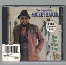 Oop NEW! Blues Jazz & Rock Guitar: Legendary Mickey Baker (CD-1992)