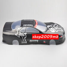 PVC Body Shell 190MM RC 1:10 Scale On-Road Drift Car Painted W/Rear Wing 020GR
