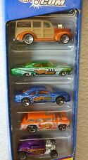 PRICE REDUCED - 1998 HOT WHEELS .COM 5 PACK GIFT PACK