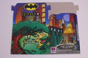 Batman the Animated Series Taco Bell Kids Meal Box, unassembled, NEW 1997