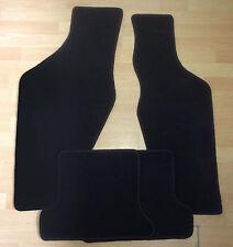 Autoteppiche Fußmatten für Audi Typ 85 20V quattro schwarz Velour nicht original