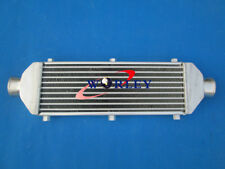 Universal Turbo FMIC Aluminum Intercooler 520x150x50mm Tube & Fin In/Outlet 67mm