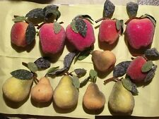 Künstliches Obst / Apfel / Birne / optisch gezuckert