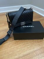 Chanel Boy Bag Limited Edition Stingray Leather Guitar Strap