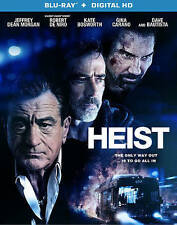 Heist Blu-ray -with Dave Batista & Jeffrey Dean Morgan Negan on The Walking Dead