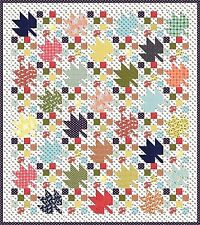 New Pieced Quilt Pattern Fruition Directions for 3 Sizes