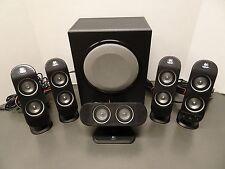 Logitech X-530 5.1-Channels Dolby Digital PC Surround Sound Speaker w/Subwoofer