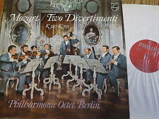 6500 075 Mozart Two Divertimenti K.247 & 251 / Berlin Philharmonic Octet