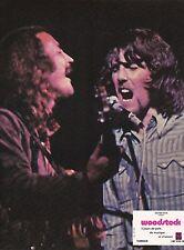 David Crosby Graham Nash Woodstock Michael Wadleigh Lobby Card 1970
