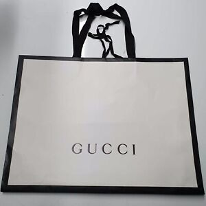 48x36x8cm Genuine Gucci Paper Carrier Bag