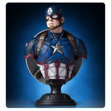 CAPTAIN AMERICA Civil War mini bust/statue-Gentle Giant-Marvel-Avengers-NIB