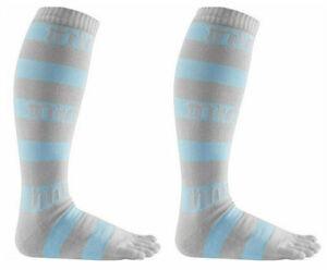 ThirtyTwo Women's Tootsies Snowboard Socks - Grey (L/XL)