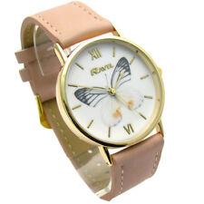 Reloj de Cuarzo Ravel Señoras Mariposa Diseño Correa Rosa R0135.05.2