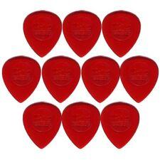 10 x Jim Dunlop Big Stubby 1.00MM Gauge Guitar Picks *NEW* 475R Plectrums, Red