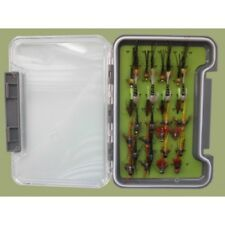 32 Stone Flies in a Troutflies Silicone Insert Box - Named flies Fly Fishing