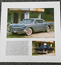 1957 BUICK ROADMASTER SERIES 75 MAGAZINE ADVERTISEMENT PRINT AD