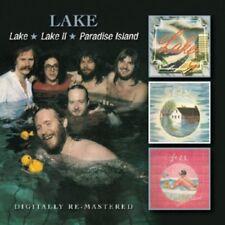 Lake - Lake / Lake 2 / Paradise Island [New CD] UK - Import