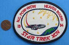 """Patch '94 vtg Star Trek Tng - Xciv - Boy Scouts N.C. Pow-Wow Heaven Bound 4"""""""