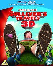 Gulliver's Travel 3D (Blu Ray 3D + Blu-ray + DVD)
