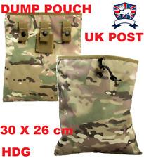 AMMO MAG DUMP POUCH BRITISH ARMY MULTICAMO MTP AIRSOFT TA CADET Magazine