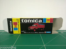 REPRODUCTION BOX for Tomica Black Box No.20 Nissan Diesel Mail Coach
