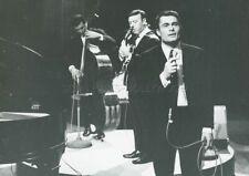 ALAIN BARRIERE  PILE OU FACE 1964 PHOTO  ORIGINAL  ORTF TV