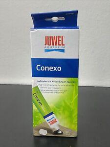 Juwel Aquarium Conexo Adhesive 80ml Silicone Sealer Underwater Sealant Fish Tan
