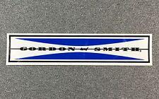 Gordon & Smith G&S CLASSIC BAR skateboard sticker blue G&S reissue 6.2in si