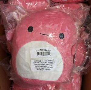 """Squishmallow 12"""" ARCHIE The Pink AXOLOTL Ultra Soft Plush KellyToy NWT Brand New"""