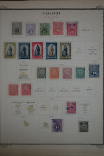 Paraguay 1800's to 1960's Vintage Stamp Collection