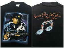 Vintage Mens XL 1991 90s Stevie Ray Vaughn Guitar Concert Tour Memorial T-Shirt