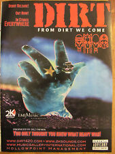 Dirt, From Dirt We Come, Full Page Promotional Ad