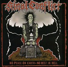 No Peace On Earth No Rest In Hell - Final Conflict (2006, CD NEUF)