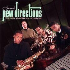 NEW DIRECTIONS: Stefon Harris/Jason Moran/Greg Osby/Mark Shim (Blue Note) NEW CD