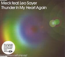 MECK ft LEO SAYER - Thunder In My Heart Again (UK 7 Tk Enh CD Single Pt 2)