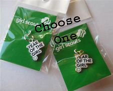 Girl Scout 2012 YEAR OF GIRL CHARM Bracelet Jewelry Leader GIFT 100 Anniversary