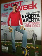 Sport Week.GIGI BUFFON,ROMINA OPRANDI, JAN KRISTIAN SILVA,iii