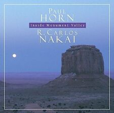Inside Monument Valley by Paul Horn R. Carlos Nakai [Native American] [Audio CD]