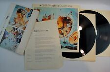 DIRE STRAITS ‎– Alchemy Live LP Spain FOLDER PROMOTIONAL MINT* DOSIER 12 SHEET
