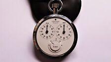 JUNGHANS Meister chrono vintage poche chronomètre Montre + étui